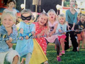 kids at picnic 2013